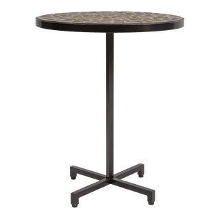 Side Table with Pamela Sunday Stoneware Inlay