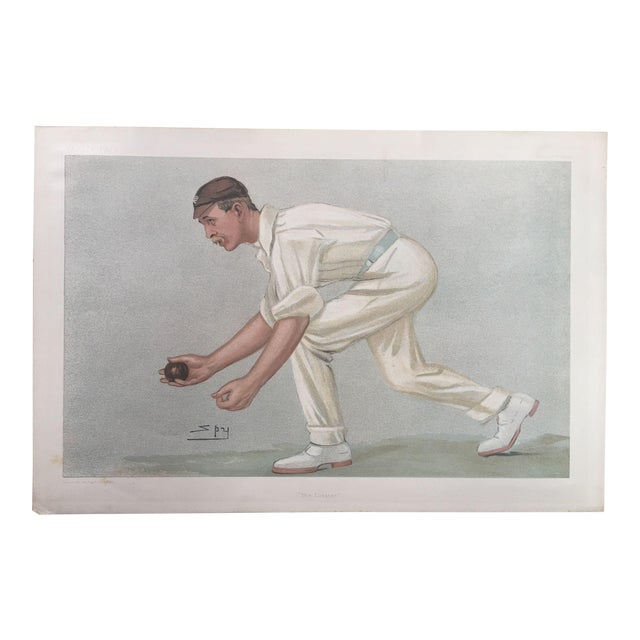 Digby Loder Jephson Vanity Fair Cricket Print - Image 1 of 5