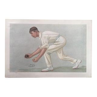 Digby Loder Jephson Vanity Fair Cricket Print