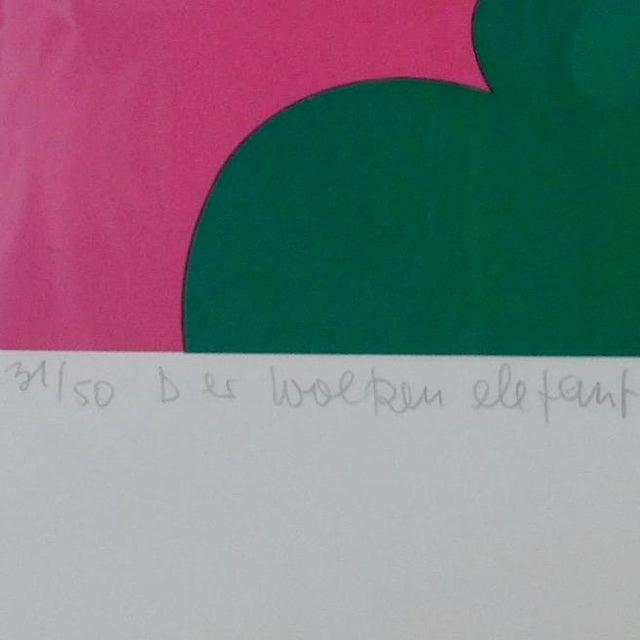 """Otmar Alt """"Der Wolken Elephant"""" Serigraph - Image 7 of 8"""