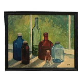 Joanna Myers Vintage Bottles Still Life