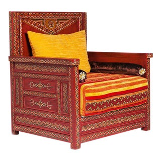 Handcrafted Moroccan Berber Chair