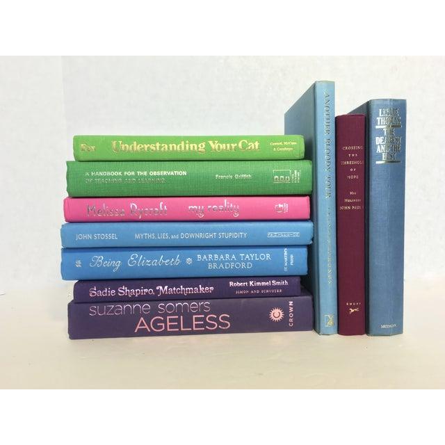 Multicolor Decorative Books - Set of 10 - Image 3 of 3