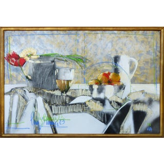 Perez Becerra Abstract Table Still Life Painting