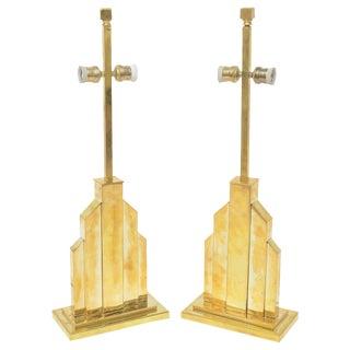 Signed Romeo Rega Table Lamps - Pair