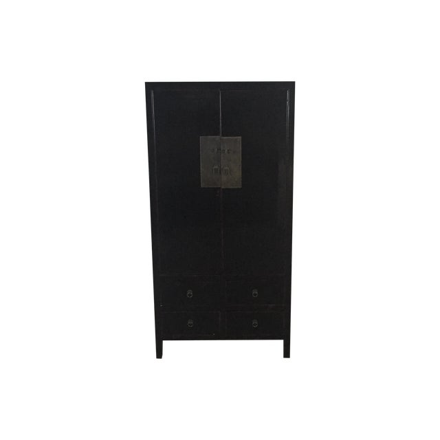 Image of Asian Inspired Armoire