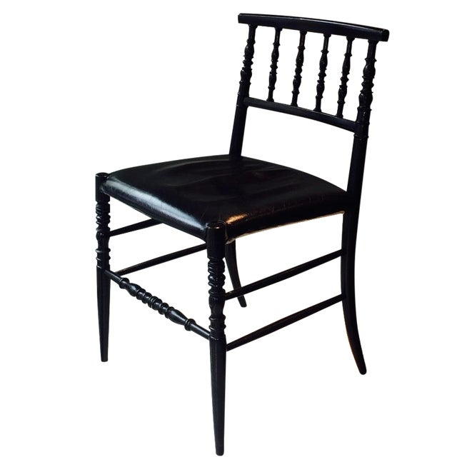 Image of Moooi Dutch Designer Black Leather Dining Chair