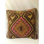 Image of Antique Turkish Kilim Pillows - Pair