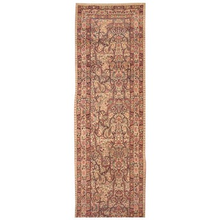 Antique 19th Century Persian Lavar Kerman Runner