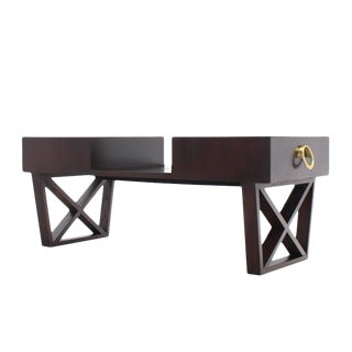 Entry Coffee Table with Two Drawers