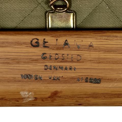 Hans J. Wegner for GETAMA Three Seat Sofa in Oak GE 290 - Image 10 of 10