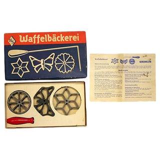 Vintage German Waffle Cookie Maker