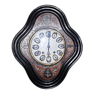 French Antique Baker's Clock