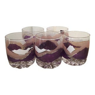 Parka Old Fashioned Cocktail Glasses - Set of 5