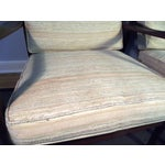 Image of Mid-Century Walnut Lounge Chairs - A Pair
