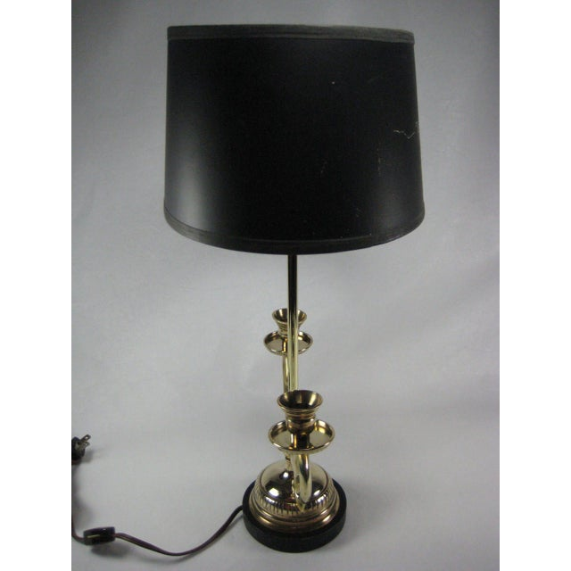 1974 French Bouillotte Lamp by Chapman - Image 3 of 8