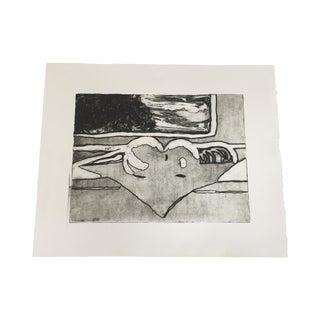 Abstract Linda Pericolo Block Print