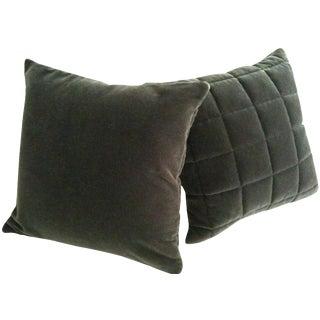 Mohair Pillows - A Pair