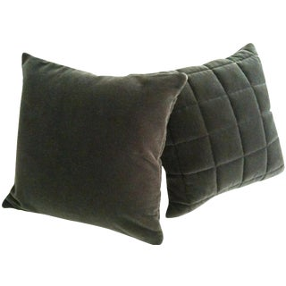 Mohair Pillows - A Pair