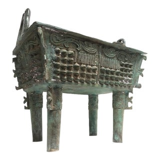 Antique Bronze Censer
