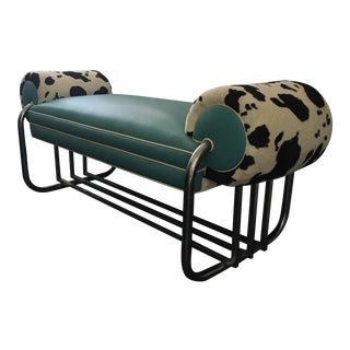 KEM Weber Leather Bench