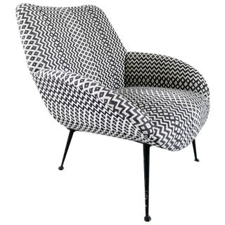 Rare Lounge Chair Model 121 by Theo Ruth for Artifort, Holland, 1956