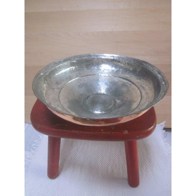 Image of Copper Pot Set Hammered Copper & Brass Pots & Pans - Set of 4