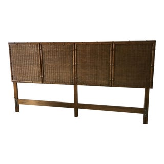 American of Martinsville Bamboo King Size Bed