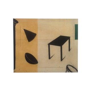 Greg Murdoch 1991 Aquatint Abstract Etching