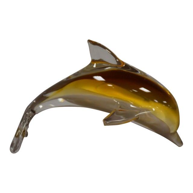 Murano Glass Dolphin Chairish