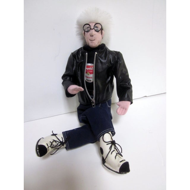 Image of Andy Warhol Iconic Scupture