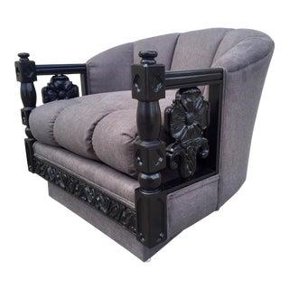 Restored Mediterranean Lounge Chair