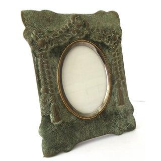 Victorian Chenille Picture Frame