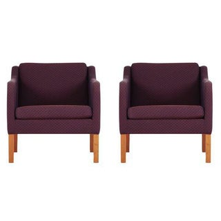 Model 2521 Armchairs by Børge Mogensen for Fredericia Stolefabrik, Marke - A Pair