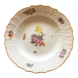 Saxon Flower Royal Copenhagen Dinner Plates - Set of 6