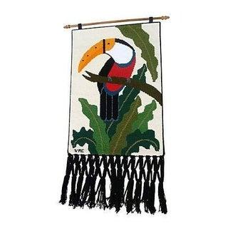 Toucan Woven Wall Hanging
