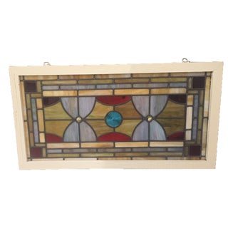 Vintage Stained Glass Circa 1940's