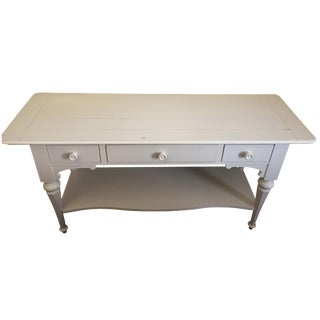 Stanley White Buffet Table