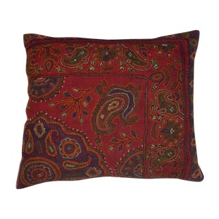 Hand Embroidery Antique Pillows - A Pair