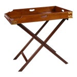 Image of Butler's Tray Table Mahogany