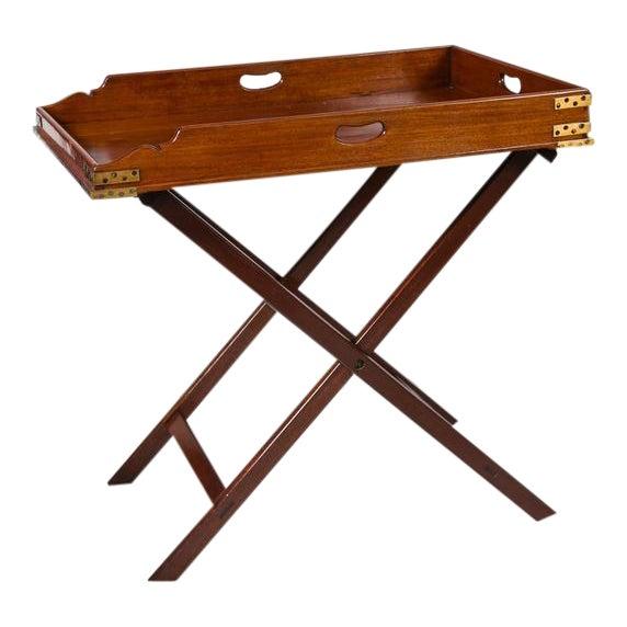 Image of Butler's Tray Table Mahogany