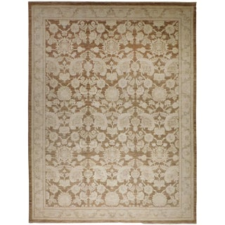 """Hand Knotted Afghan Rug. - 6'x 8'10"""""""