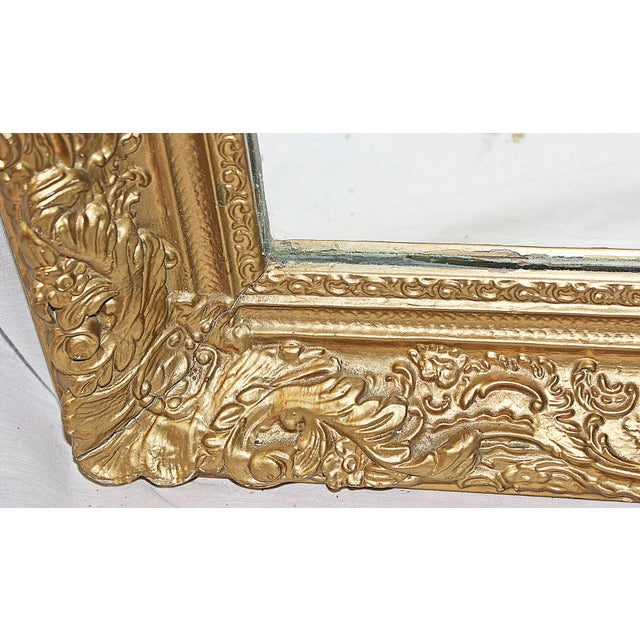 Antique Gilt Gesso Mirror - Image 5 of 7