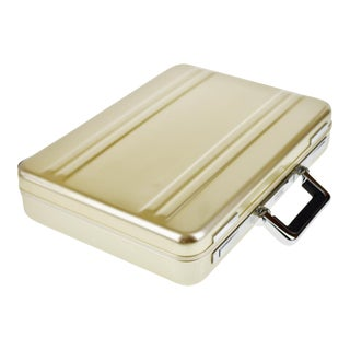 Vintage Zero Halliburton Aluminum Attache Briefcase