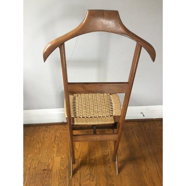 Mid Century Italian Valet Chair - Image 3 of 7