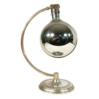1930s Machine Age Chase Company Chrome Desk Lamp