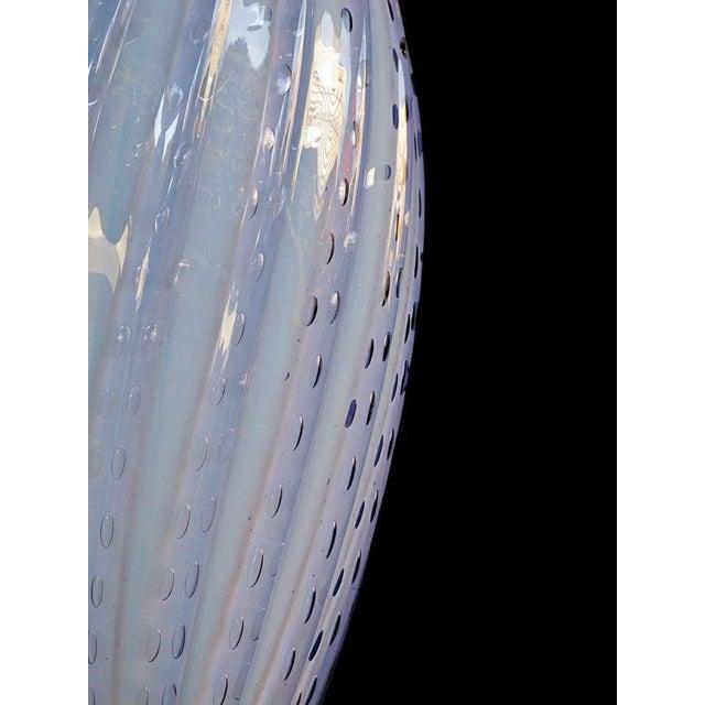Italian Mid-Century Art Glass Lamp Made for Marbro Lighting, Los Angeles - Image 5 of 5
