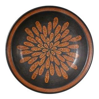 Glazed Stoneware Bowl by Harrison Mcintosh