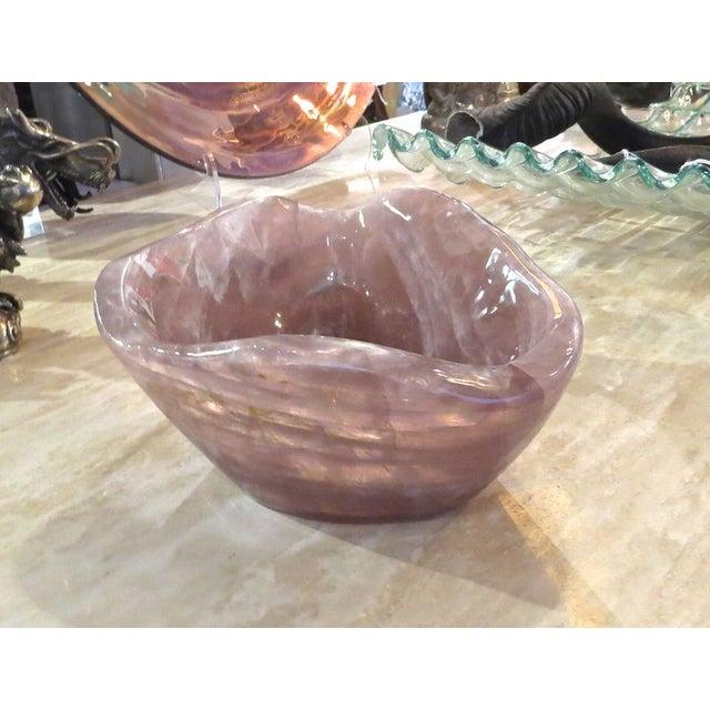 Image of Rose Quartz Bowl