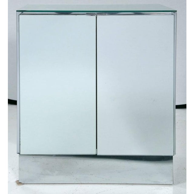 Mid-Century Mirrored Night Stands by Ello Furniture - Image 2 of 6